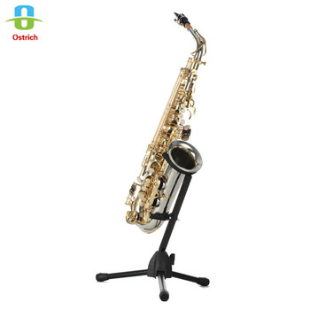HB Top quality Alto Saxophone Yellow Brass Body and Black/Bright Nickel finish